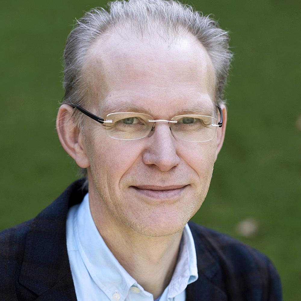Photograph of CRANE team member Jan van der Meulen
